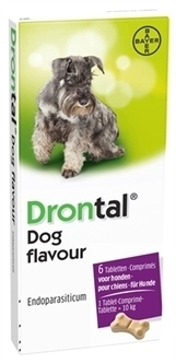 Drontal dog tasty 2 tab.