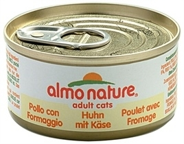 Almo Nature kip/kaas 70gr