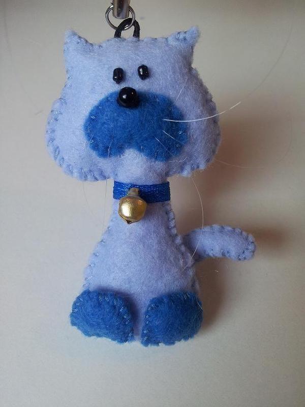 Freubelpoesje lichtblauw/Blauw