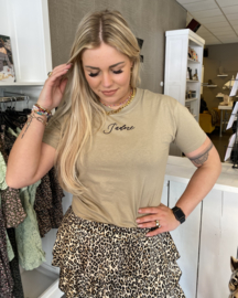 T-shirt jadore taupe
