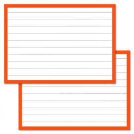 Flashcards oranje