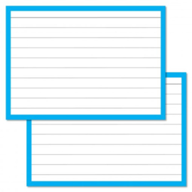 Flashcards blauw