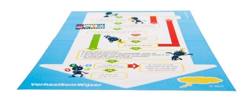 Redactiesommen oefenen met VerhaalSomWijzer (5x)