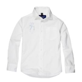 Sevenoneseven overhemd  - wit