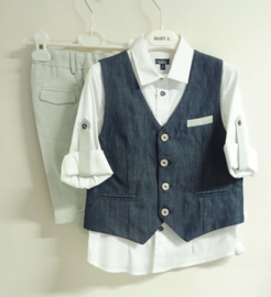 BABY A. communie outfit