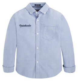 NUKUTAVAKE MAYORAL overhemd - lichtblauw