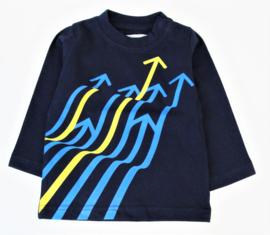 BLUE BAY t-shirt met lange mouwen - blauw