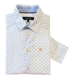 TERRE BLEUE overhemd - wit