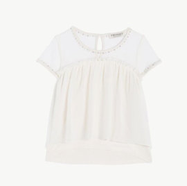 TWIN-SET blouse - wit