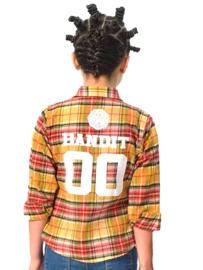 Déscy Belgium Bandit overhemd van flanel met ruitdessin