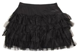 MAELIE tule rok - zwart