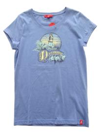 EDC by ESPRIT t-shirt - lichtblauw