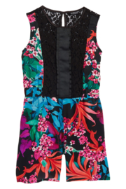 GUESS by MARCIANO jumpsuit met kant - zwart