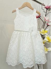 LE BELLISSIME di LOREDANA communie / bruidsmeisje jurk - ecru