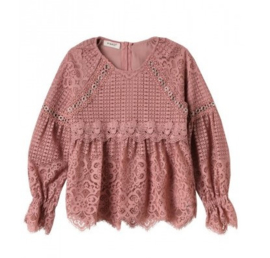 PINKO UP blouse - oudroze