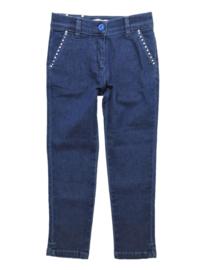 MISS BLUMARINE jeans met Swarovski
