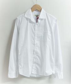 NUPKEET overhemd - wit