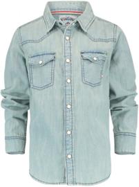 VINGINO denim overhemd - blauw