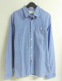SCOTCH&SODA overhemd - blauw