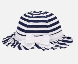 MAYORAL hoed met strepen - blauw