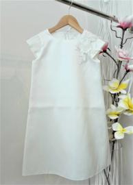 La Robe Blanche by Michelle Turlinckx communie / bruidsmeisje jurk - ecru