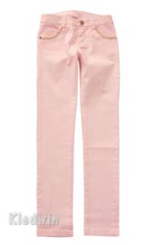 DIAMANTE BLU communie broek - roze