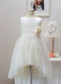 LES GAMINS CERIMONIA communie / bruidsmeisje jurk - ecru
