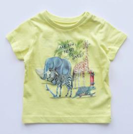 MAYORAL t-shirt - geel