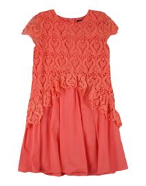 MISS BLUMARINE jurk - koraal