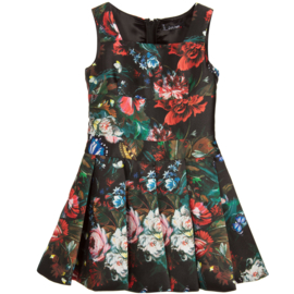 MONNALISA jurk - zwart