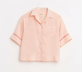 BELLEROSE blouse - oudroze