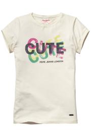 PEPE JEANS t-shirt - ecru