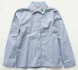 PAULINE B. blouse / overhemd - lichtblauw