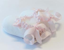 STORY LORIS Baby Slofjes - roze