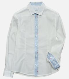 PIERRE CARDIN overhemd - wit