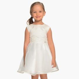 MAYORAL jurk - ecru