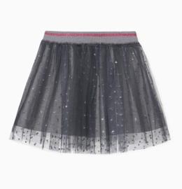 ELSY rok met ingenaaide short - grijs