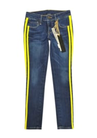 JUST BLUE skinny jeans - blauw