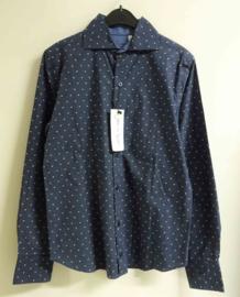 JAN VAN TRIER overhemd - blauw