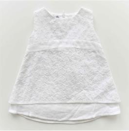 BABY GRAZIELLA jurk - wit