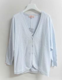 ANNE KURRIS cardigan - lichtblauw melange