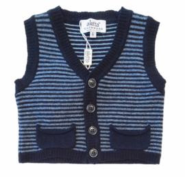 ALETTA vest zonder mouwen - blauw