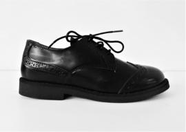 NINETTE veterschoenen - zwart