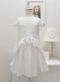 MISS BLUMARINE jurk -wit