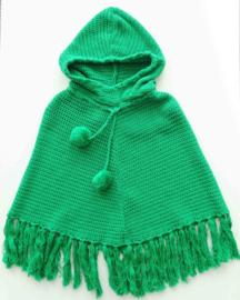MIM PI poncho - groen