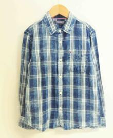 TOMMY HILFIGER overhemd - blauw