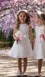 ALICE Pi. communie / bruidsmeisje jurk - ecru