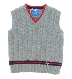 FAY trui zonder mouwen - grijs