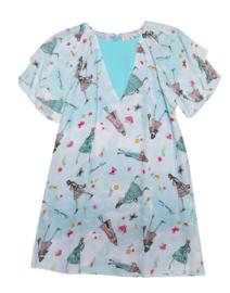 ELISABETTA FRANCHI jurk - lichtblauw