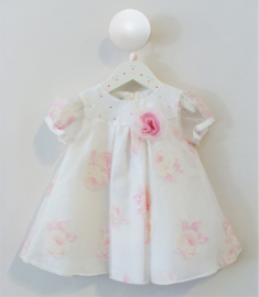 BABY GRAZIELLA bruidsmeisjes jurk doopjurk rozen strass